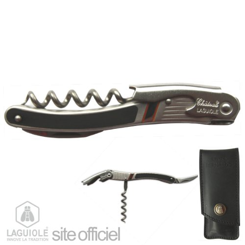 Laguiole Corkscrew, Sommelier Signed By Enrico Bernardo, Best Sommelier In The World / 2004, And Europe / 2002. Sommelier At Georges V With Eric Beaumard, Has Several Restaurants In France: Paris, Cassis And Courchevel. Authentic Genuine Chateau Laguiole.