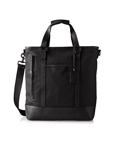 Cole Haan Men's Leather Trim Tote Bag, Black