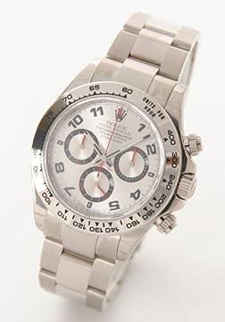 [ロレックス]ROLEX 腕時計 Ref.116509 デイトナ WG金無垢 コスモグラフ シルバー アラビア Ref.116509 A メンズ [並行輸入品]