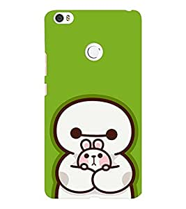 EPICCASE Cute Teddy cover Mobile Back Case Cover For Xiaomi Mi Max (Designer Case)