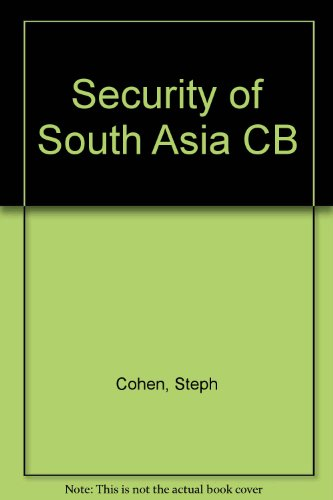 Security of South Asia CB