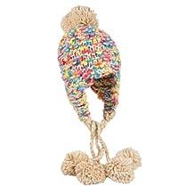 Brinley Co Womens Knit Pom-pom Hat