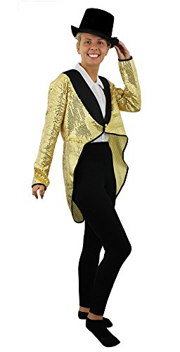ladies-gold-sequin-tailcoat-fancy-dress-costume-accessory-dance-show-pale-gold-tail-coat-unisex-outf