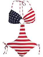 Marina West Women's Triangle Top Keyhole Monokini Swimsuit