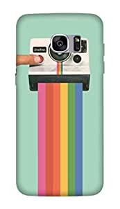 Flauntinstyle take a picture Hard Back Case Cover For Samsung Galaxy S7 edge plus