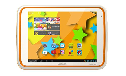 """Archos Child Pad 2 8"""" Series 80 Android 4.1 Tablet, 4Gb Storage, 1.0Ghz Dual Core Processor, 1Gb Memory front-273502"""