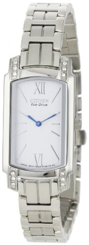 Citizen Women's EG2720-51A Silhouette, Swarovski Crystal, Eco-Drive Watch