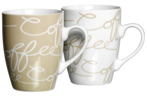 032178 Kaffeebecher-Set Cornello, 2-teilig, crème