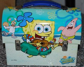 Spongebob Squarepants Workman's Tin Lunch Box - 1