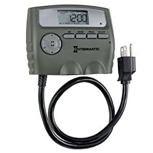 Intermatic HB800RCL 15 Amp Seven Day Outdoor Digital Timer