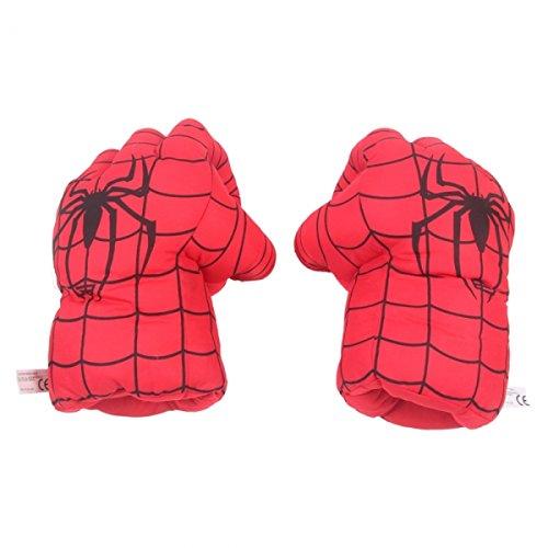 Creative Warm Spider Polyester Fiber Boxing Gloves For Children Red 15 Oz 24001471 front-1038166