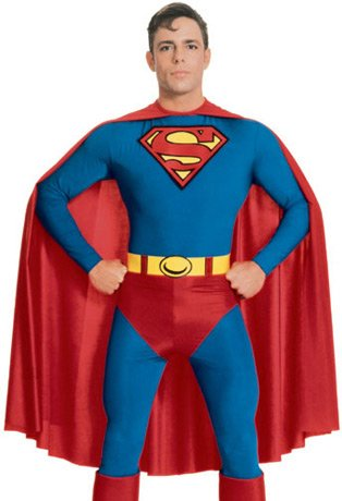 Rubies Superman Mens Comic Book Superhero Halloween