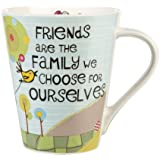 The Good Life Friends are Family Mug, Fine China