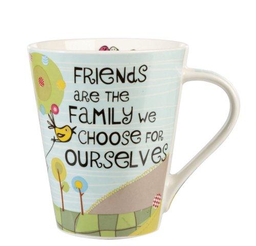 The Good Life Friends are Family, Tazza, Fine China