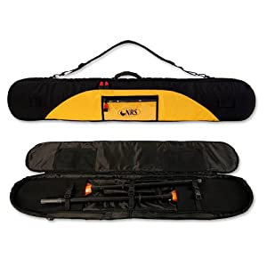 Buy NRS Two-Piece Kayak Paddle Bag - Black  Yellow Up to 137 cm by NRS