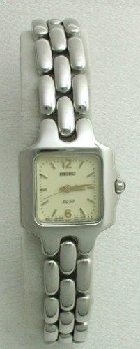 Seiko Watches Seiko Lumibrite with Yellow Sapphire Cabochon Women's Watch