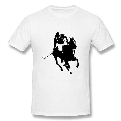 Polo Men'S Cotton Tee Shirts White X-Small