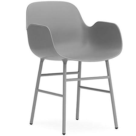 Normann Form Arm Chair Steel - Green