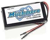 マッチモア MLI-2000T MRリチウムポリマー(タイヤウォーマー&充電器用)11.1V 2000mAh