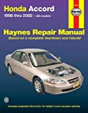 img - for Honda Accord 1998-2002 (Haynes Repair Manual) book / textbook / text book