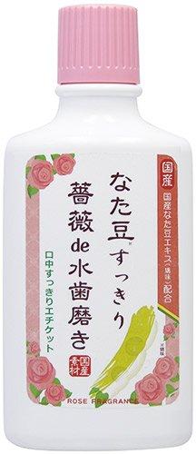 三和通商 なた豆すっきり薔薇de水歯磨 500ml