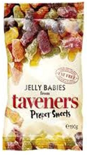 Taveners Jelly Babies, 5.8 oz., Two Bags (British Jelly compare prices)