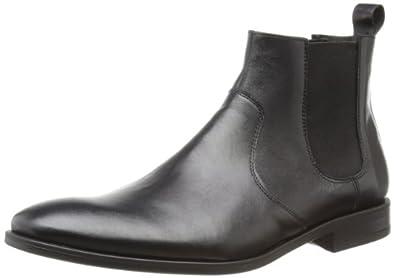 Hudson Mens Blair Chelsea Boots K202010 Black 10 UK, 44 EU