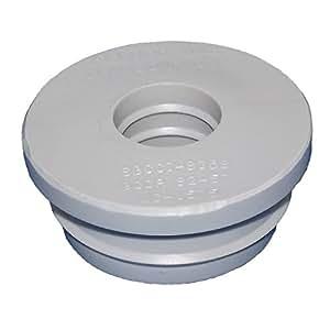 Fernco uc 1575 3 4 inch cpvc copper to 1 1 2 inch plastic for Plastic plumbing vs copper