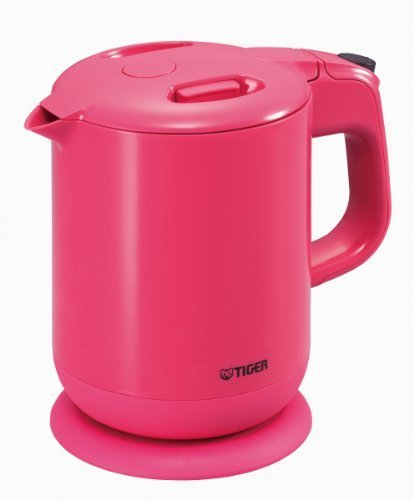 Tiger Child Hopefully Electric Kettle (0.8 L) Sweet Pink Pcg-A080-Ps By Tiger