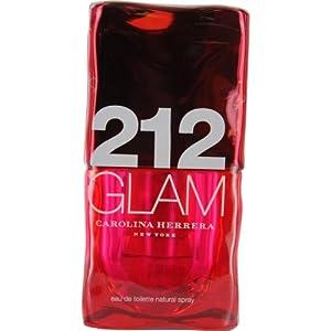 Carolina Herrer 212 Glam Eau de Toilette Spray for Women, 2.0 Ounce