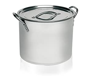 Imusa Stainless Steel Stock Pot, 16 Quart
