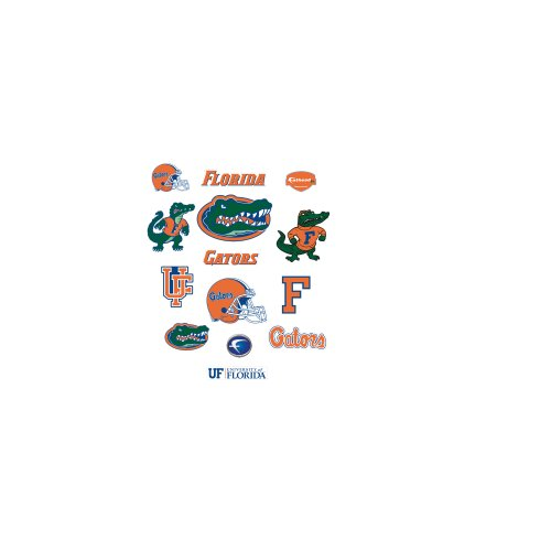 Ncaa Florida Gators Team Logo Assortment Fathead Jr. Wall Decal
