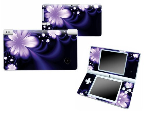 Bundle Monster Nintendo Ndsi Dsi Nds Ds i Vinyl Game Skin Case Art Decal Cover Sticker Protector Accessories - Purple Flower