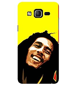 Evaluze BOB MARLEY Printed Back Cover for SAMSUNG GALAXY ON7 2015