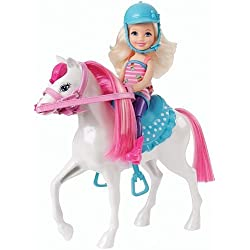 Barbie CMY35 Chelsea Doll and Pony Playset