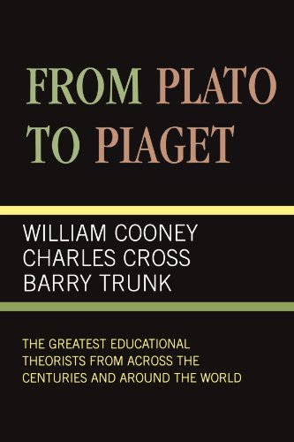 by-university-press-of-america-from-plato-to-piaget-1st-first-edition