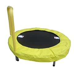 Buy Bazoongi 48 Trampoline Bouncer with Easy Hold Handle Bar - Sunshine Yellow. Special Exclusive Limited Edition by Bazoongi