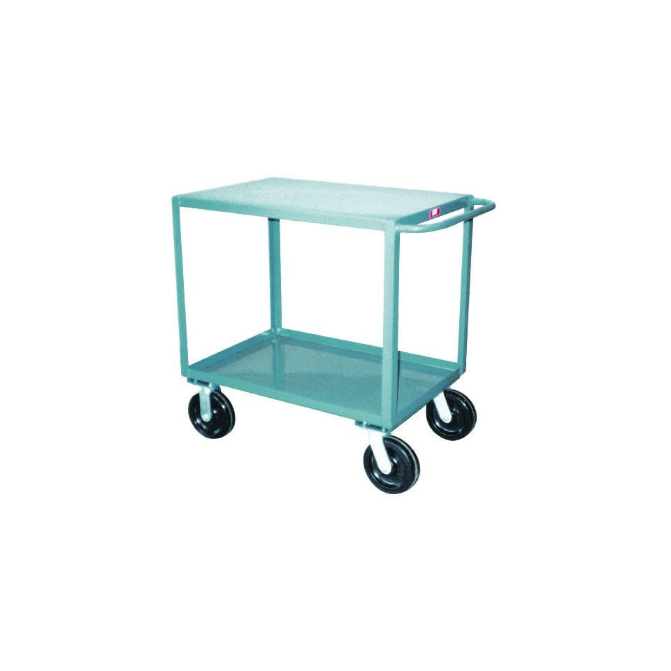 Jamco Products SD448 P8 GP 36 Inch by 48 Inch 4800 Pound Capacity Two Shelf Service Cart