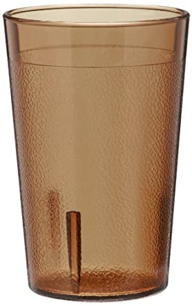 Cambro 800P153 7.8 -Ounce Capacity 2-5/8-Inch Diameter by 4-Inch Height Amber Plastic Colorware Tumbler (Case of 12)