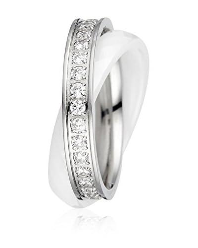 ART DE France Ring silberfarben/weiß