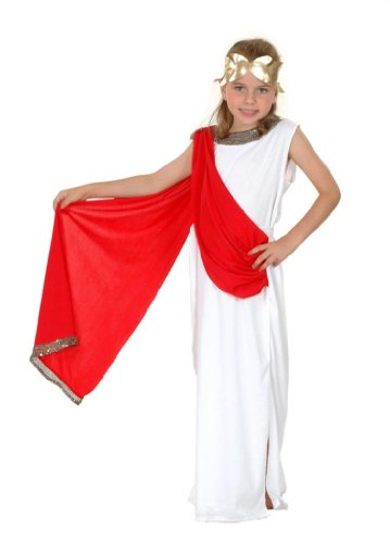 Goddess Costume Girls Dress - Ancient