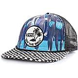 Vans Men's Off The Wall Hank Foto Snapback Hat Cap-Blue/Multi-Adjustable