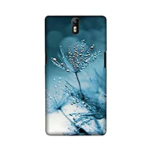 OnePlus One Perfect fit Matte finishing Mother Nature Mobile Backcover designed by Aaranis(Blue)