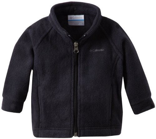 Columbia Baby Girls' Benton Springs Fleece Jacket, Black, 6-12 Months