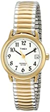 Timex Womens T2H381 Easy Reader Two-Tone Watch with Expansion