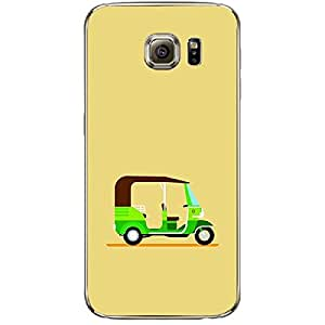 Skin4gadgets TUK-TUK RIKSHAW, Color - Khaki Phone Skin for SAMSUNG GALAXY S6 (G920I)