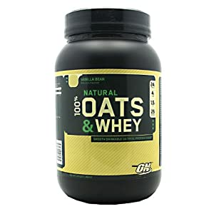 Optimum Nutrition 100% Natural Oats and Whey Vanilla Bean 3 Lbs ( Multi-Pack)