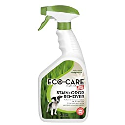 Simple Solution Eco-Care Stain and Odor Remover Spray, 32-Ounce