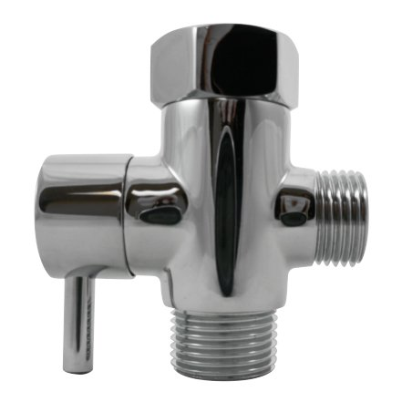 Luxe-Metal-T-adapter-with-Shut-off-Valve-3-way-Tee-Connector-Chrome-Finish-for-Luxe-Neo-Bidets