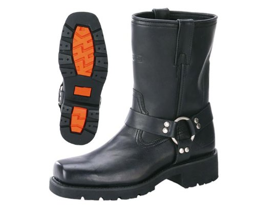 Xelement 1436 Mens Motorcycle Short Harness Boot